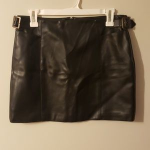 B. B. Collections Skirts - B.B. Collections Pleather Skirt